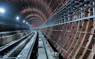 Tunel przesyłowy pod Wisłą Oczyszczalni Ścieków Czajka